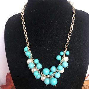Ann Klein  Baubles Brad's & Pearls Necklace